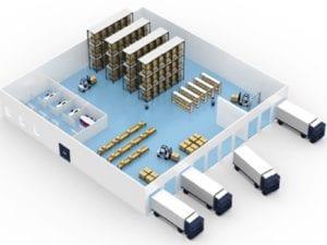 внедрение систем адресного складского хранения
