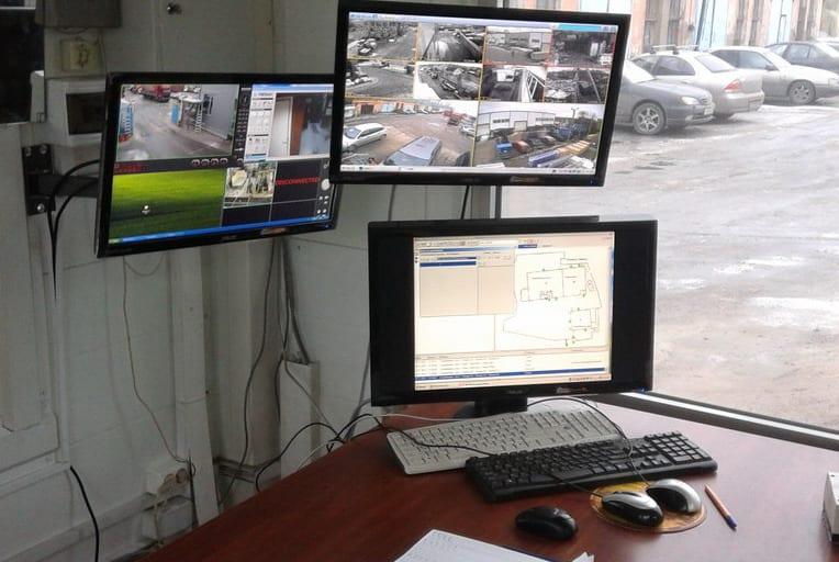 монтаж систем промышленного видеонаблюдения