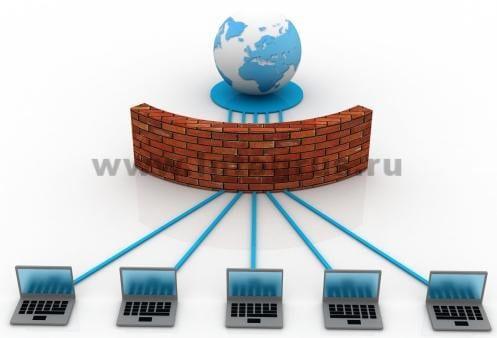 установка firewall в спб услуги