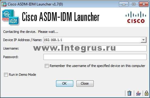 настройка Cisco ASA 5506-X