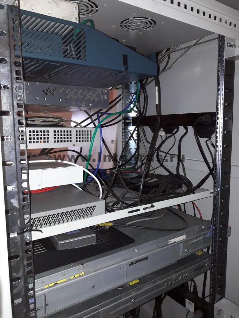 настройка серверного оборудования, скс и ЛВС в новом офисе