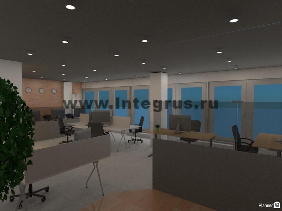 настройка беспроводных сетей и вайфай в высокотехнологичном новом офисе