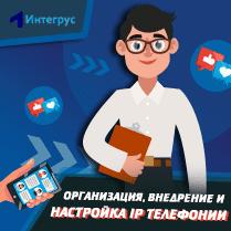 Организация, внедрение, настройка IP телефонии