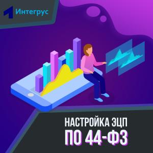 Настройка ЭЦП по 44-ФЗ