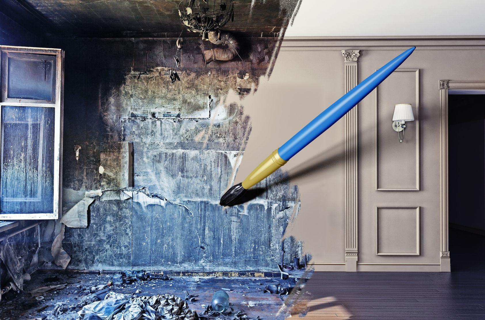 Пример креативной рекламы квартиры